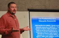 Imparte Gobierno del Estado taller de elaboración de proyectos científicos a docentes