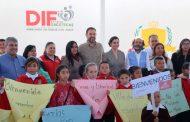 Unidos, Gobierno del Estado y ONU arrancan programa para fomentar la producción de huertos en escuelas del semidesierto