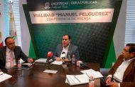 Cumple Gobierno de Tello al dar mayor conectividad a Zacatecas con la nueva vialidad Manuel Felguérez