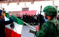 Conmemoran Gobernador y Autoridades Militares Marcha de la Lealtad