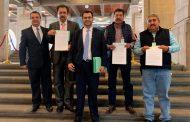 Presentan, Miguel Torres, Gregorio Macías y Eduardo Duque Controversia Constitucional por el Recurso del Fondo Minero