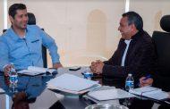 Julio César Chavéz afianza acuerdos en favor del Medio Ambiente