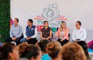 Llega Gobierno del Estado con apoyos y servicios  a comunidad El Chique en Tabasco