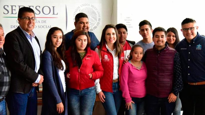 Refrenda Gobierno compromiso de trabajo unido a favor de la juventud Zacatecana