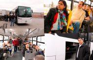 Prueban nuevo vehículo para el transporte público