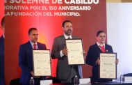 Encabeza Gobernador conmemoración por 150 Aniversario de la Fundación de Cuauhtémoc