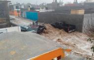 Imágenes de las afectaciones tras la tromba en el municipio de Concepción del Oro