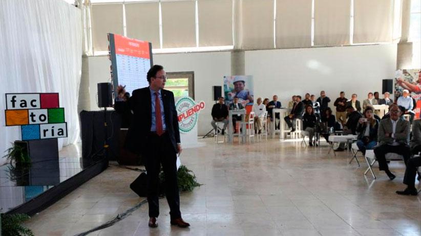 Está cumpliendo Gobernador Tello garantías en economía: Secretario Carlos Bárcena