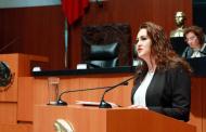 Esclarecer destino de los bienes de Los Pinos, una decisión histórica del Senado: Geovanna Bañuelos