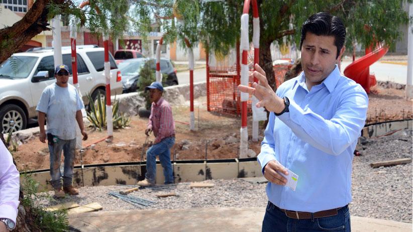 Ayuntamiento de Guadalupe invierte más de 2 Mdp en Parque Deportivo