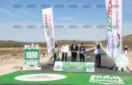 Gregorio Macías y Alejandro Tello inauguran tramo carretero Vinatero – Pozo de San Juan