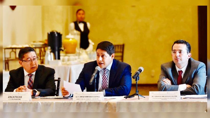 Propone Secretario Jorge Miranda nueva Ley de Gasto Federalizado ante Comité de Vigilancia y Aportaciones