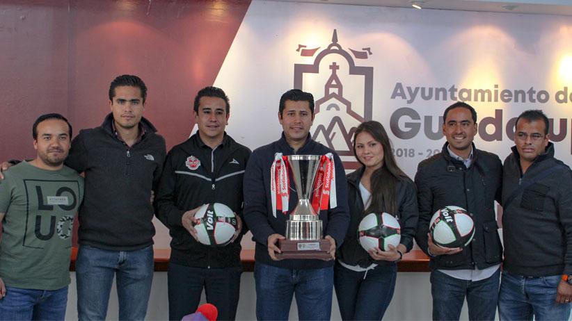Alcalde de Guadalupe trae al Municipio Eliminatoria Internacional
