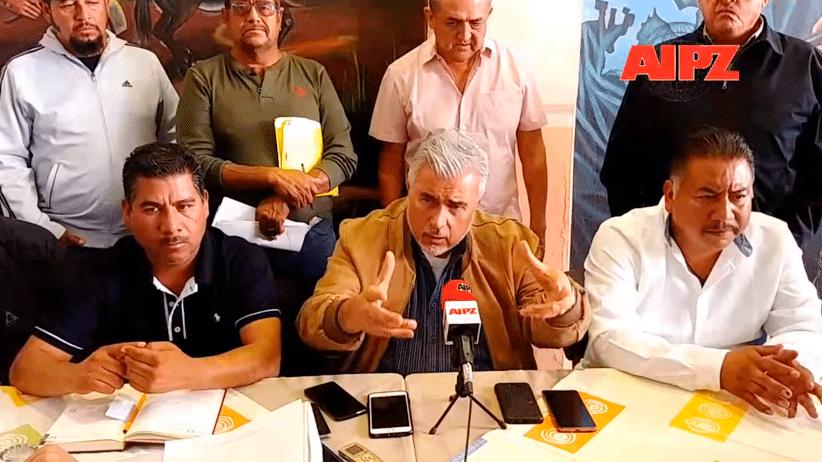 """Ejidatarios de Mazapil, """"Cero tolerancia"""" también a devastación y falta de compromisos; exigirán al Gobierno Federal retiro de concesión a Peñasquito, si no cumple: Narro Céspedes"""