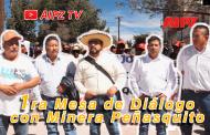 Video: Conclusiones de la Primera Mesa de Dialogo con Minera Peñasquito