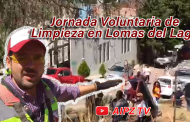 Video: Jornada Voluntaria de Limpieza en Lomas del Lago
