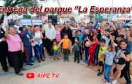 Evento en Vivo : Entrega  Julio César Chávez Parque la Esperanza