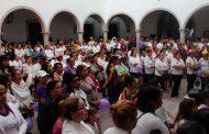 Más de 1, 200 mujeres sales a las calles de Villanueva a pedir igualdad de condiciones para ellas y para sus hijas