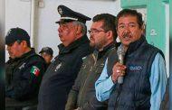 Se reunen diferentes corporaciones policiacas en Mazapil