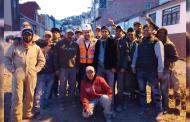 Alcalde Ulises Mejía Haro intensifica obra en la Capital del Estado