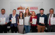 Verónica Díaz otorga nombramientos  a los subdelegados regionales en Zacatecas