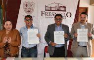 Gobierno de Fresnillo firma Convenio con Fonacot