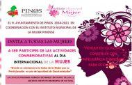 Celebrarán en Pinos el Día  internacional de la Mujer