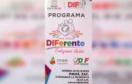 Invitacion a la Feria Diferente en Pinos.