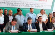 Asiste Carlos Carrillo a Firma de convenio
