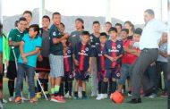 Inauguración de la liga del Futbolito del Rosario