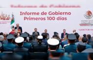 En 100 días de gobierno, avanza la transformación del país: Verónica Díaz