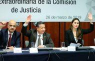 Se aprueba en comisiones que la FGR atraiga investigaciones contra Miguel Alonso Reyes