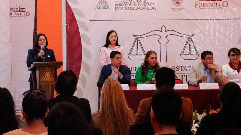 Realiza CDHEZ Primer Encuentro Estatal de Jueces Comunitarios de Zacatecas