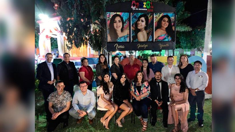 Candidatas a Reinas de la Feria de la Ascensión 2019