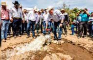Cumple Gobierno de Tello a productores del municipio de Pinos