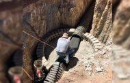 Supervisa Gobierno del Estado construcción del alcantarillado en Cañitas de Felipe Pescador