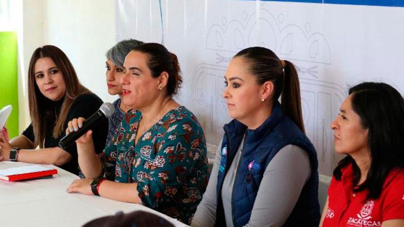 Realiza Gobierno Estatal taller de sexualidad para mujeres con discapacidad en Jerez