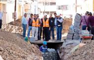 Supervisa Ulises Mejía que las obras del centro y de las colonias se realicen con calidad y eficiencia