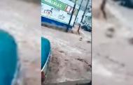 Video de la tromba en Concepción del Oro