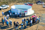 Cumple Gobernador Tello al semidesierto zacatecano y lleva obras para abasto de agua