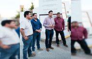 Julio César Chávez ilumina comunidades de San Jerónimo y Cieneguitas