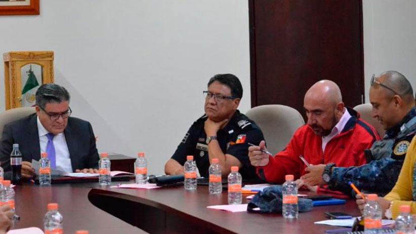 Acuerdan mayor colaboración para mejorar seguridad en Zacatecas
