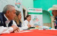Atiende Gobierno Estatal a población de Francisco R. Murguía en Audiencia de la Función pública