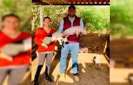 Apoya Julio César Chávez la producción del campo Guadalupense
