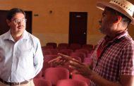 Atiende gobierno de Tello a comunidad artística en audiencia pública del IZC en Vetagrande