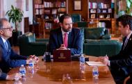 Acuerdan Gobernador y Presidente Nacional de la CANIRAC fortalecer al sector restaurantero