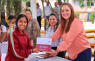 """Becas para el Bienestar """"Benito Juárez"""" combaten la deserción escolar: Verónica Díaz"""