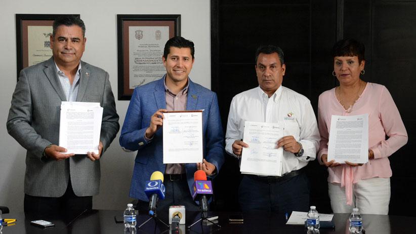 Julio César Chávez establece acuerdos con la Federación para el cuidado del Medio Ambiente