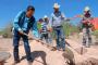 Inicia Gregorio Macías obras en Los Haro y Benito Juárez