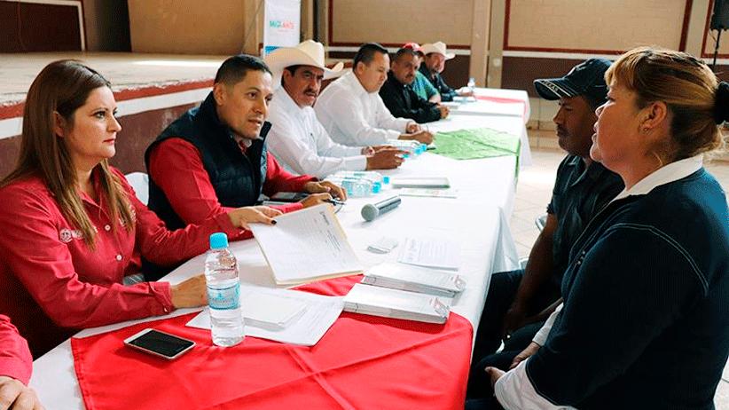 Extiende Gobierno de Tello atención a pobladores de Nieves con audiencia pública de SEZAMI